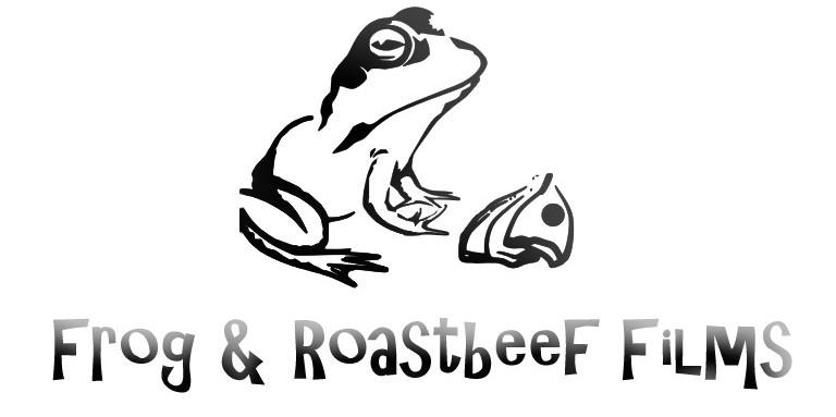 logo frog & roast beef films blanc